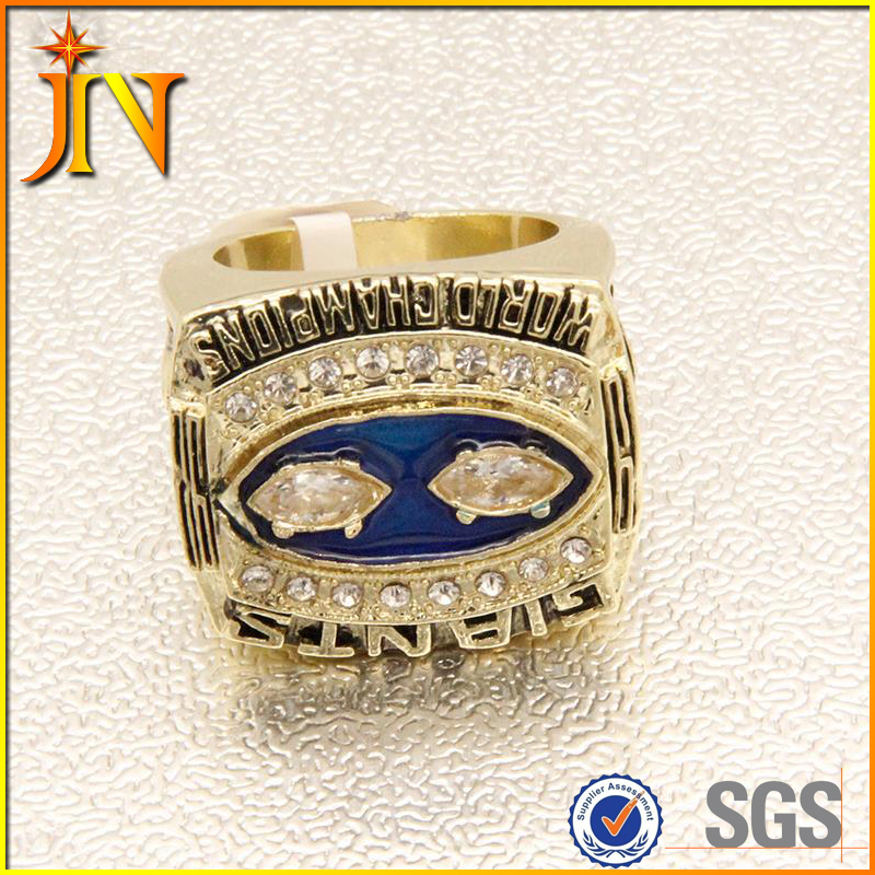 RG019 JN World Champion Rings 1990 the New York giants championship alloy replica ring Factory price
