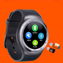 Fitness acticity tracker watch blouetooth smart touch screen watch mobile phone