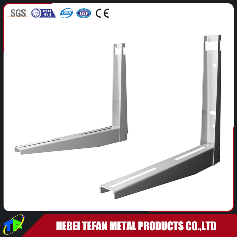 Condensing L Type Wall Mounting Metal Bracket for Split A/C Outdoor Unit