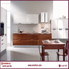 modern brushed metal uv board drawing stainless steel kitchen cabinets corner