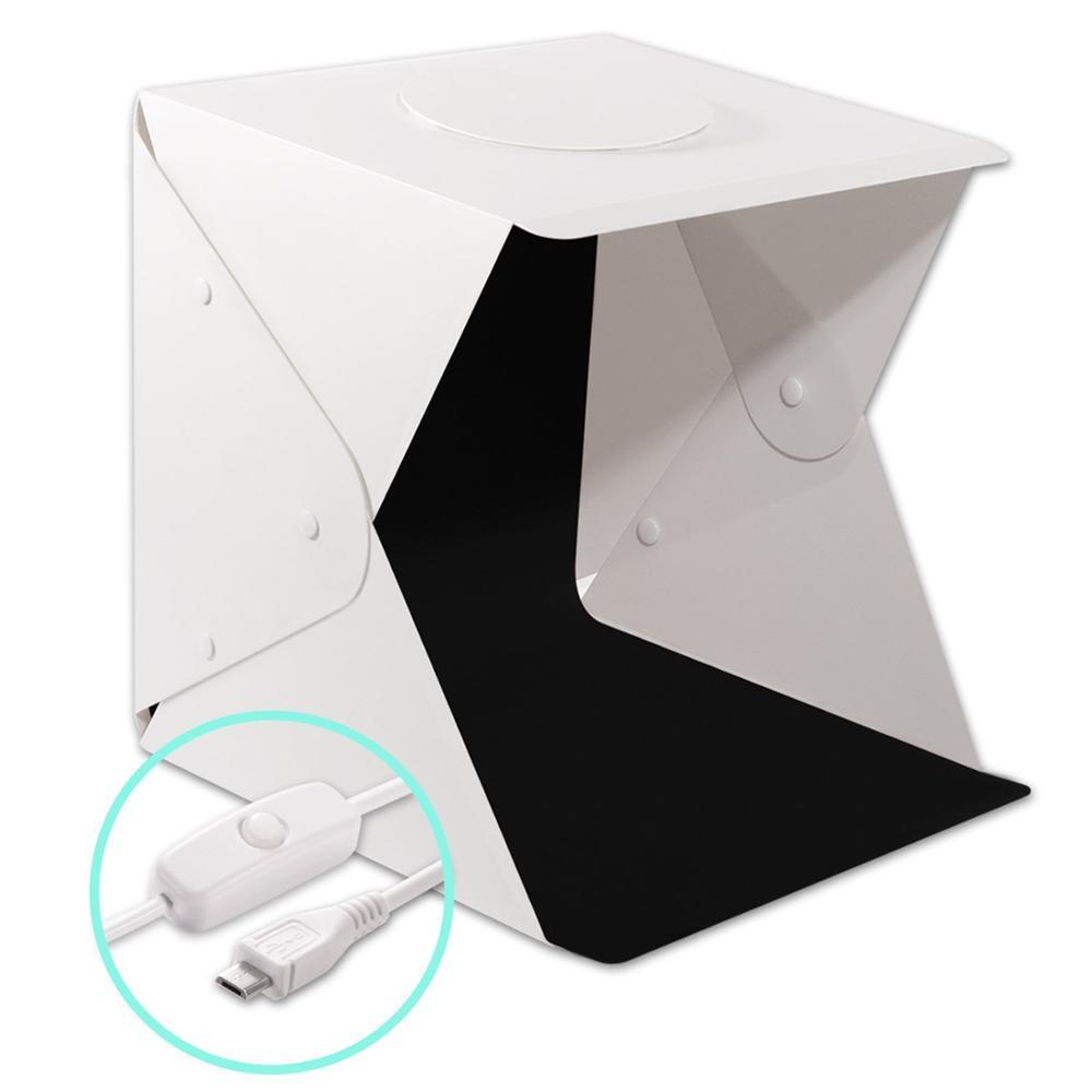 40cm tragbare led fotografie studio light box foto schießen weiche licht box - ANKUX Tech Co., Ltd