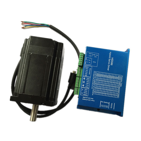 hybrid easy servo nema 34 closed loop stepper motor with encoder