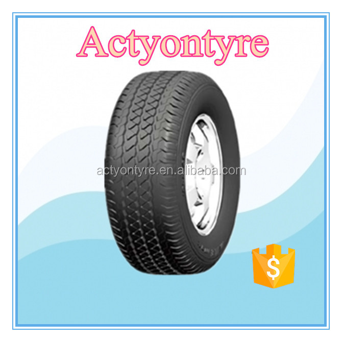 New developing size radial car tyre