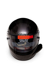 Full face helmet with SNELL SA2010and SNELL SA2010 rated with side air tube