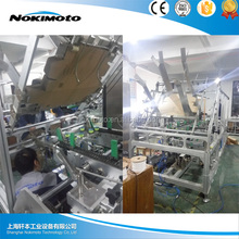 Corrugated paperboard stitching machine , carton box forming machine