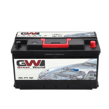 DIN88 MF Hot Export High Quality Sealed Europe Standard Car Batteries with heavy duty