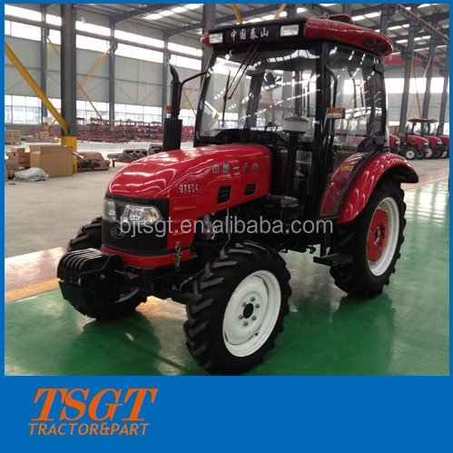 4x4 50hp farm wheel tractor with Emark cabin