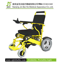 Elderly folding disabled electric wheel chair