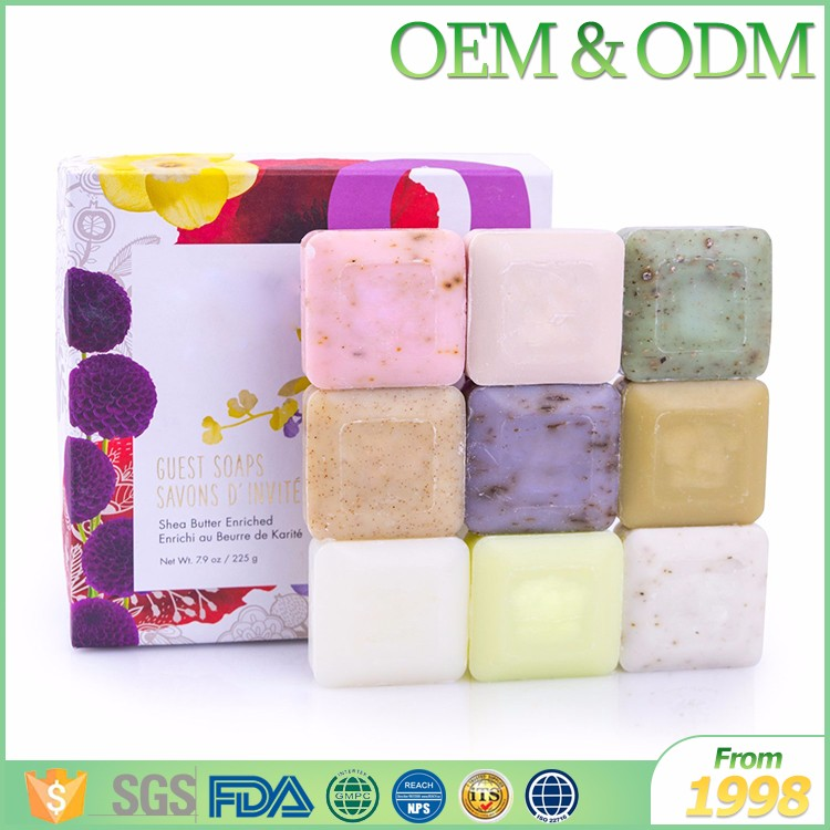 Ausmetics OEM natural herbal body care soap organic collagen skin whitening bath soap