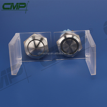 CMP pushbutton switch with waterproof cover, dust cover