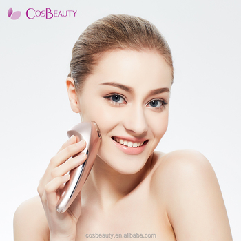 CosBeauty 2017 CE certificated Beauty Transmit Cold Hot hammer for home use, warm&cool beauty device