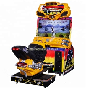 Wonderful games Indoor amusement coin operated electronic Arcade simulator Super bike 2