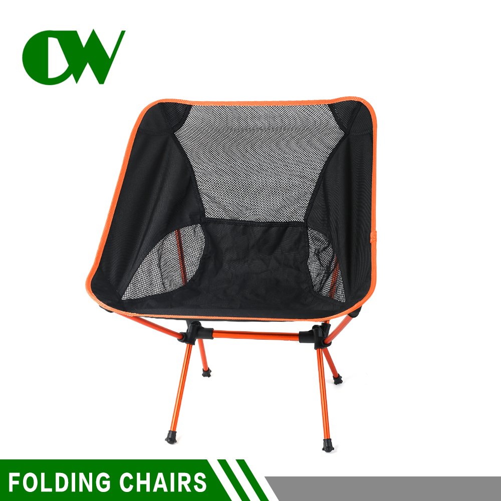 Wholesale compact ultralight portable metal aluminium fishing outdoor camp camping beach folding chair
