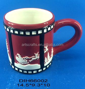 2017 Christmas decorative ceramic coffee/tea mug