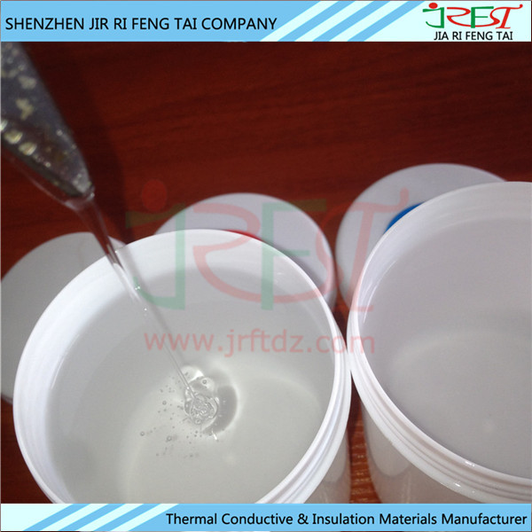 Excellent High & Low Temperature Resistance Two Component Electrical Silicone Potting Compound For Power Supply