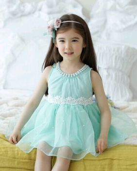 F10788C NEW ARRIVAL 2015 FLOWER GIRL DRESS PATTERN