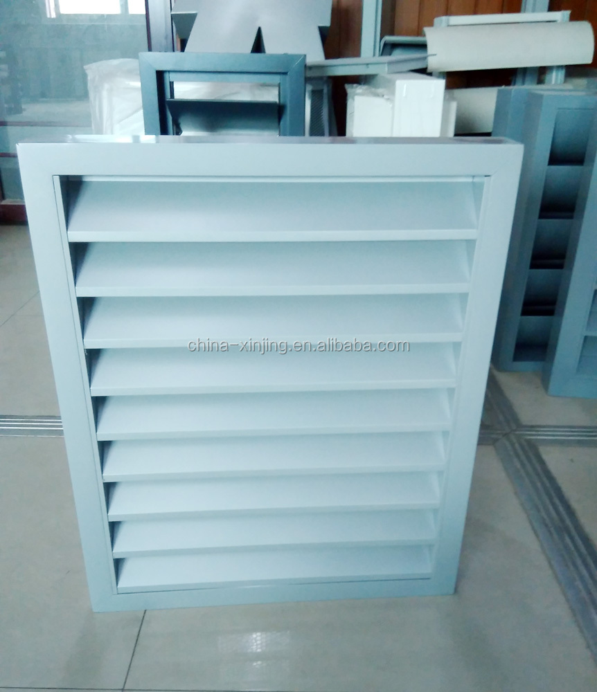 (CE)fixed aluminums wall louver