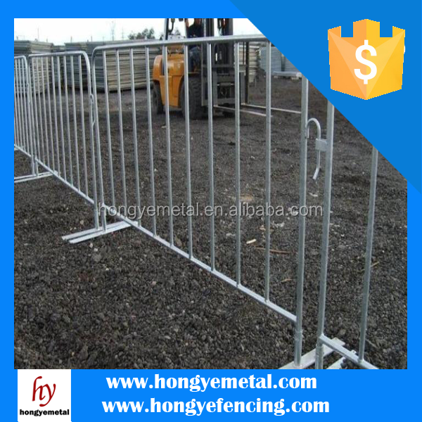 Hot Dipped Galvanized Steel Barricade Concert Fencing