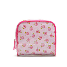 Cosmetic PVC waterproof travel makeup pouch for girls