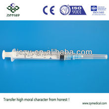 Disposable syringe 3ml factory with CE ISO free sale certificate high quality