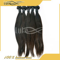Professional Natural Color Silky Straight Wave Hair Brazilian Virgin Human Hair