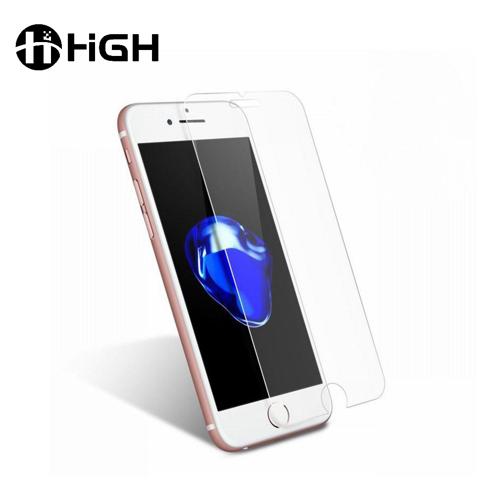 2017 factory price top 5 tempered glass skin touch screen protectors for iphone7/7plus 5 6p 6 plus ultimate screen guard