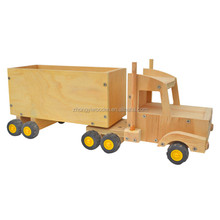 Trade assurance natural handmade high quality wholesale custom wooden car toy