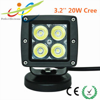 "12v/24v 3.2"" 20w offroad 4x4 Cree LED work light Auto parts motor headlight truck,tractor work light"