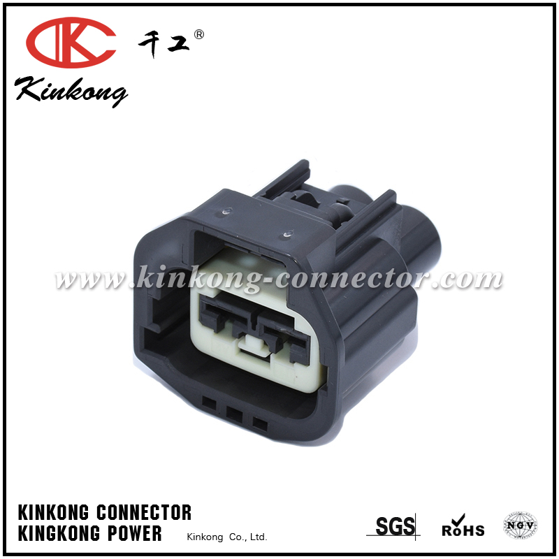 China Kinkong 2 pin female waterproof automotive electrical connector