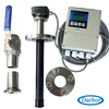 Low power consumption solar panel solar battery powered flow meter DH1000 series
