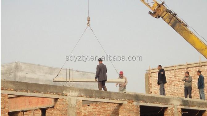 China roof slab install01