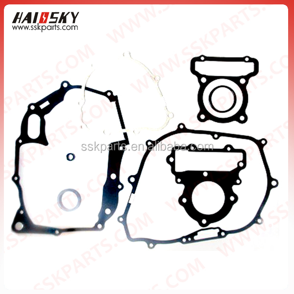 HAISSKY motorcycle spare parts full gasket kit for suzuki honda