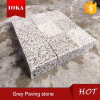 Chinese grey granite walkway paving stone