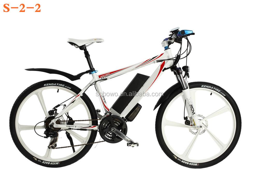 lithium battery electric mountain bike