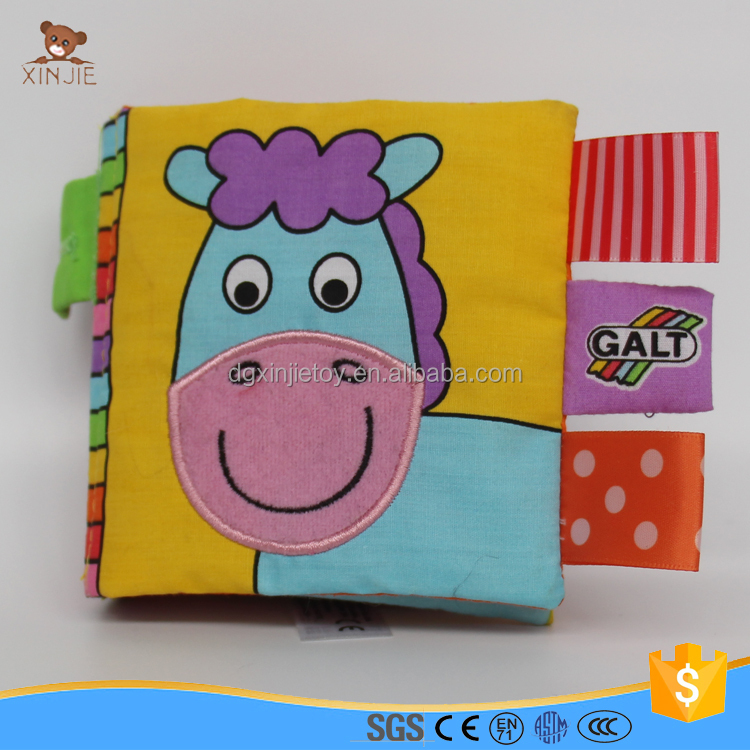 good quality fabric baby book for preschool eduction