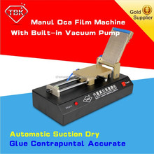 TBK film oca vacuum lamination machine with high effeicinet for 7 inch screens