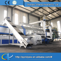 Plastic and Rubber Machinery waste plastic pyrolysis