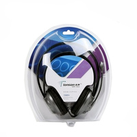 Customized clear blister pack clamshell packaging for headset use