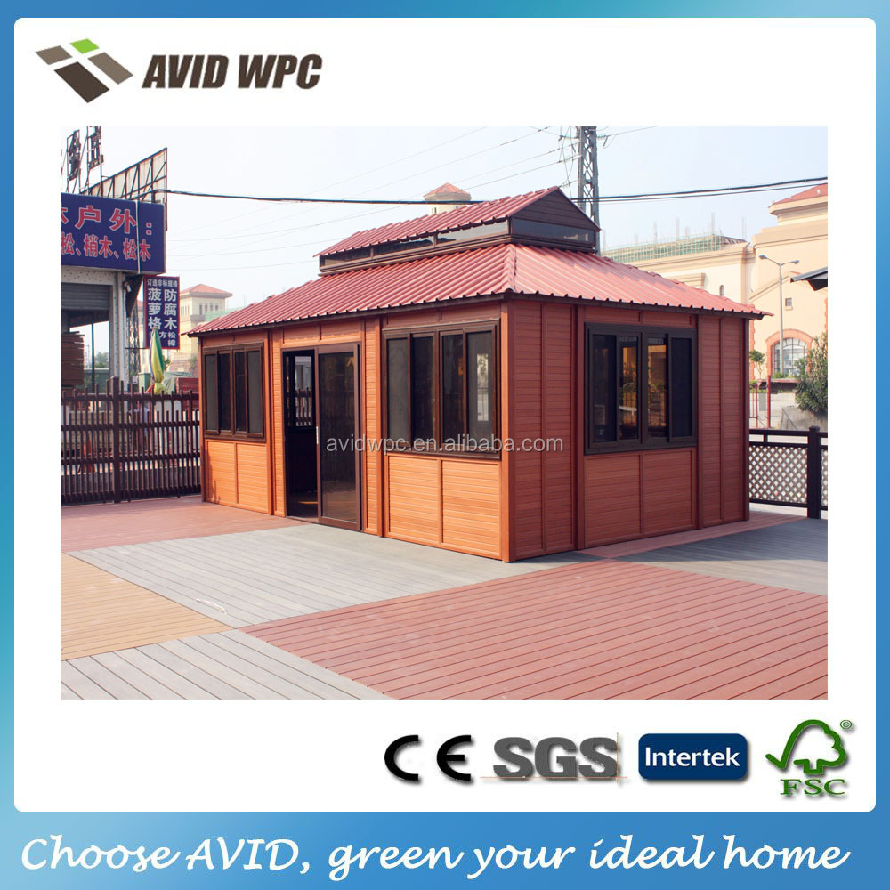 wind protect garden storage wooden house