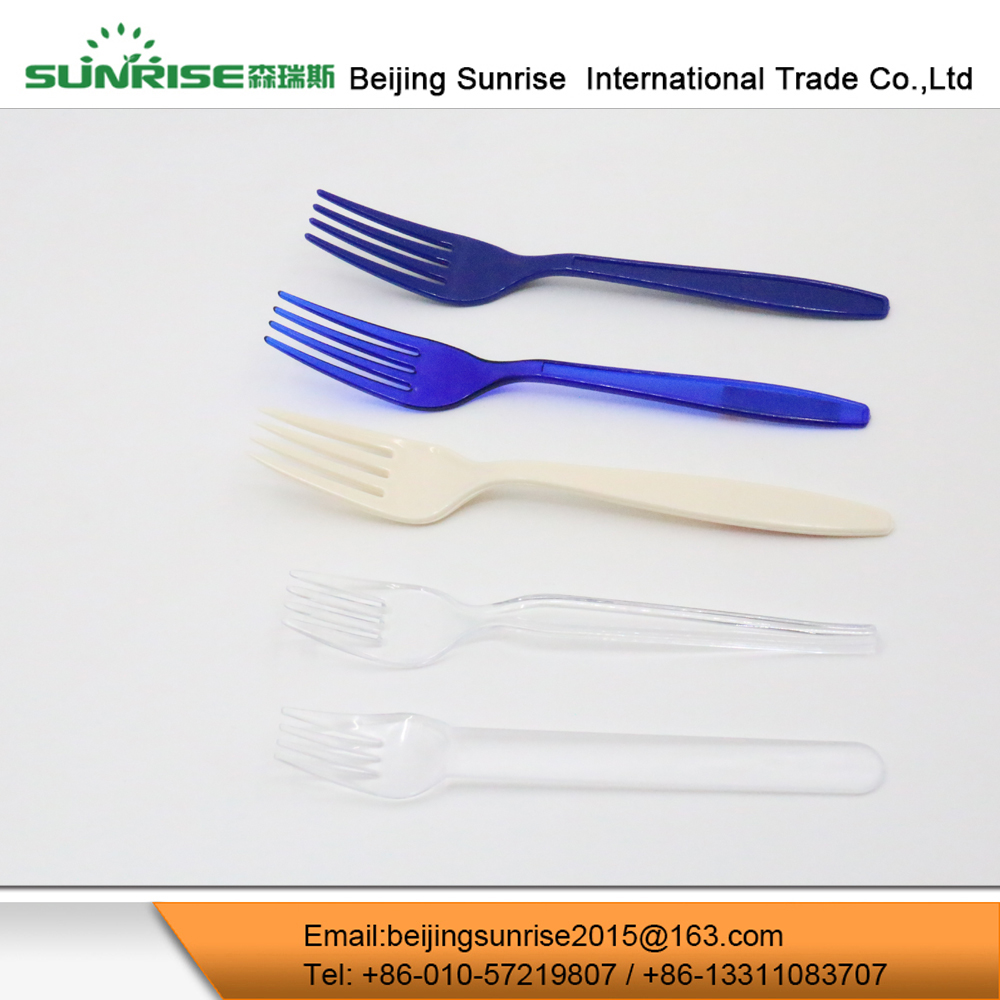 Disposable Fancy Plastic Cutlery Fork For Cake