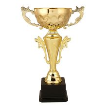 Top selling OEM quality professional metal sport trophies cup different size gold plated tropny cup