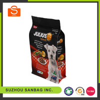 high-quality food ziplock stand up aluminum foil ziplock pouch pet dog food packaging bag
