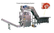 Frozen food packing machine , bag forming machine, Chicken nuggets packing machine