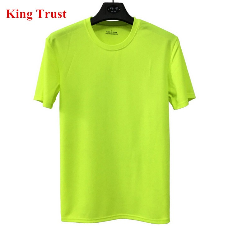 Custom solid gift mesh t shirt wholesale blank polyester t for Cheap promo t shirts