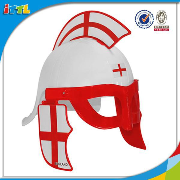 Top quality plastic hat toy plastic toy children helmet toy