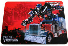 2012 Hot Sale!! Famous Radio Transformers Red Power-man Photo Mouse Pads