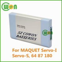 12V 4000mAh NIMH Battery for MAQUET 64 87 180, Maquet Servo-I, Servo-S replacement battery