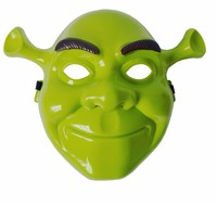 2015 beautiful new fashion design Halloween wacky mask film theme children's cartoon Shrek mask