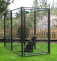 Hot sale cheap Metal or galvanized comfortable 6x10x6 dog kennels for sale, unique dog kennels