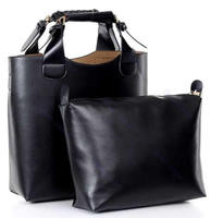 Vintage pu leather celebrity tote bag Hand bag and purse